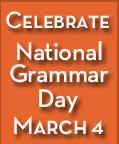 National Grammar Day, grammar tips, grammar help