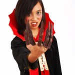 Dracula Girl With Long Fingers