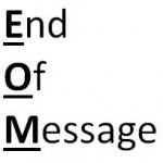 EOM end of message