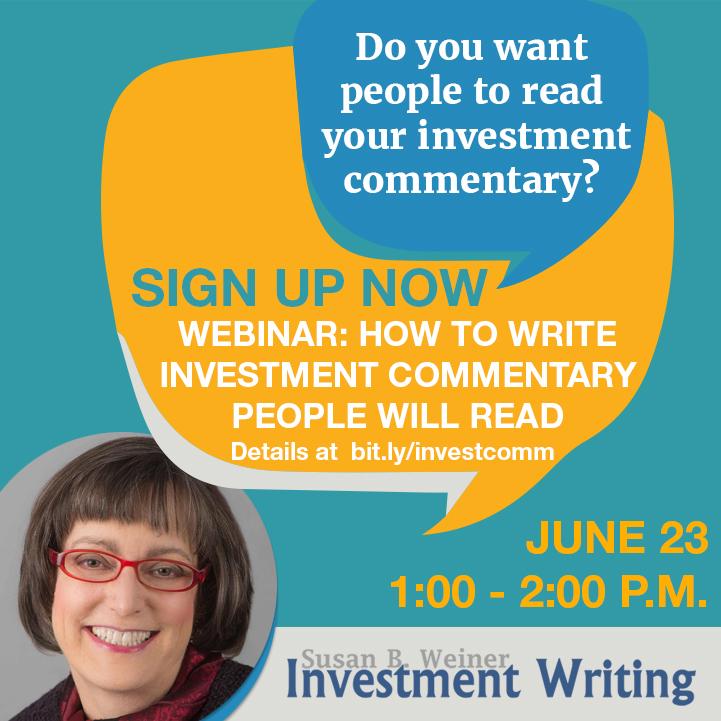 Investment Commentary Webinar