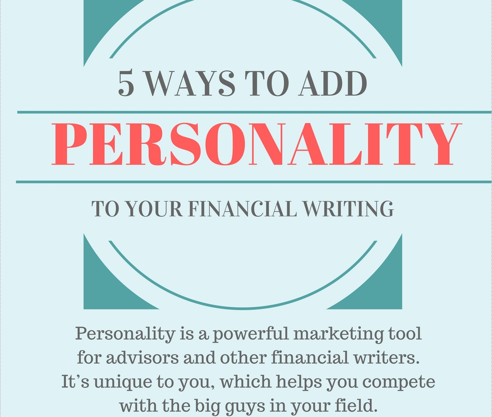 writing and your personality
