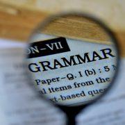 Grammar question: shall vs. will