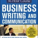 McGraw Hill 36 Hour Course in Business Writing and Communication Kenneth W Davis