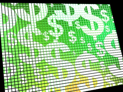 """Dollars On Screen"" by Stuart Miles"