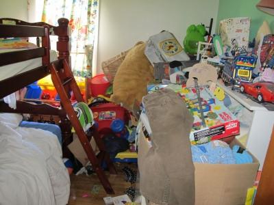 """""""Bedroom Full Of Junk"""" by Bill Longshaw"""