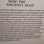 How the Ancients Read