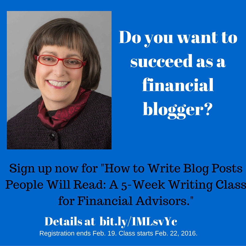Do you want to succeed as a financial blogger?