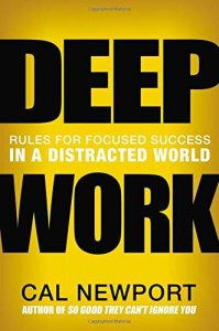 deep work carl newport book cover