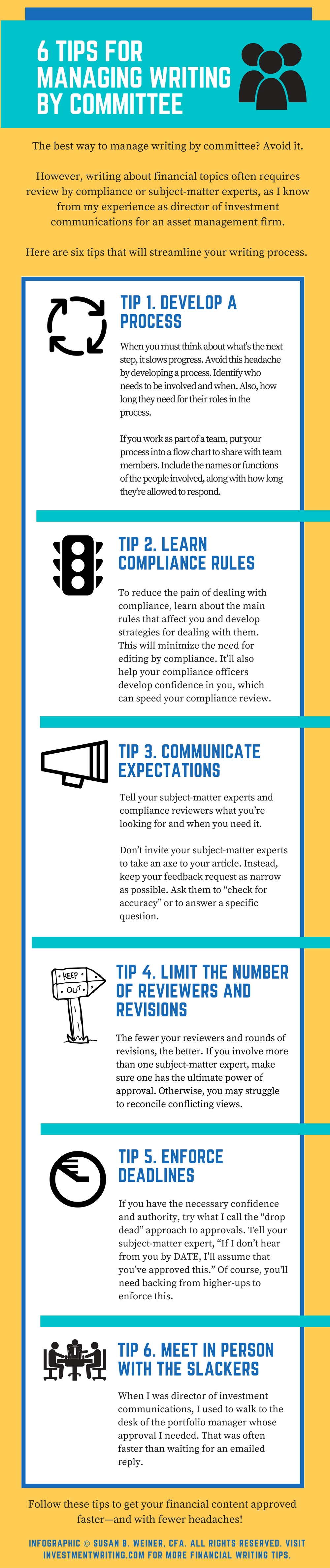 6 Tips Infographic #2