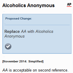 Styleguard suggests replacing the AA in AA-rated bonds with Alcoholics Anonymous