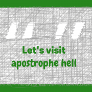 let's visit apostrophe hell