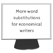 word substitutions