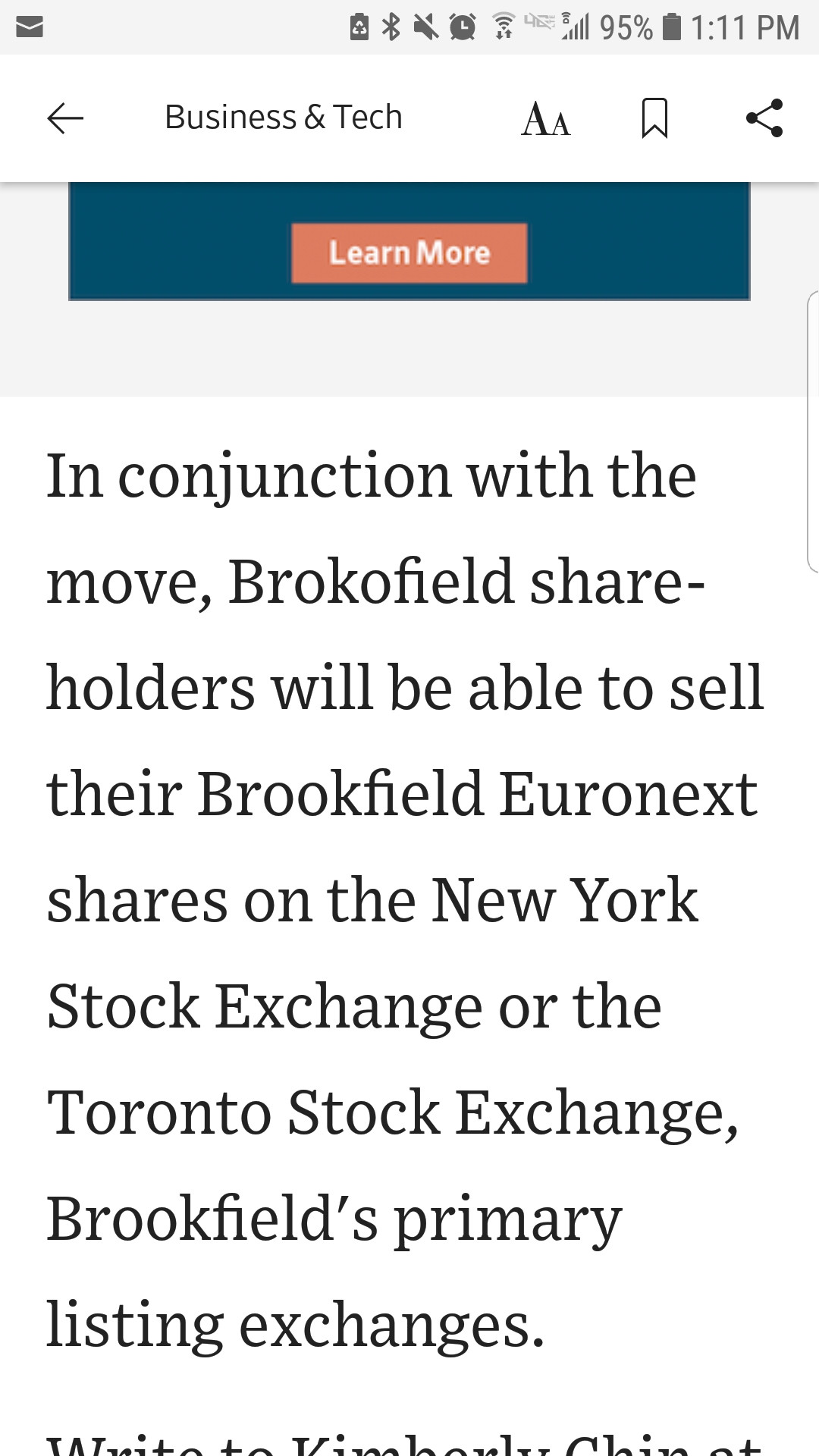 MM brokofield brookfield
