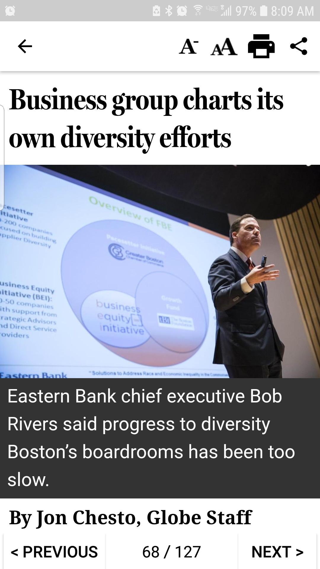 MM diversity diversify