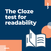 Cloze test for readability