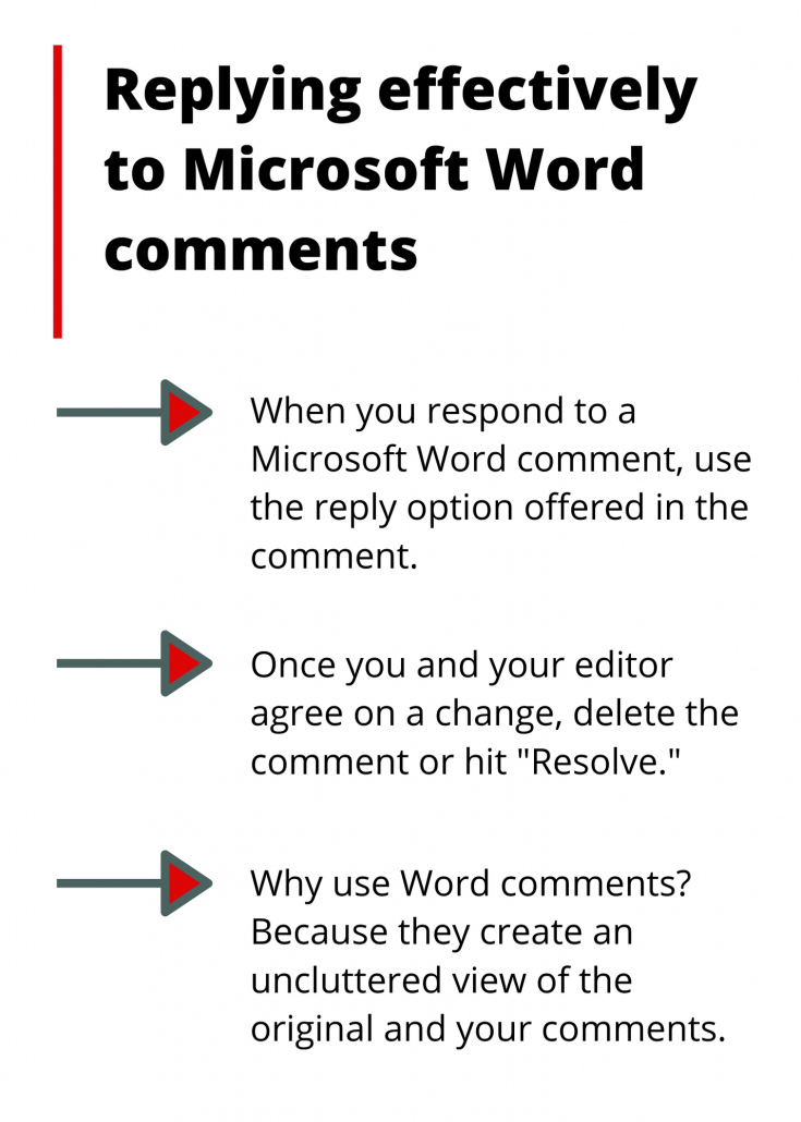 3 highlights for Microsoft Word comments