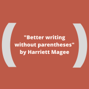 better writing without parentheses